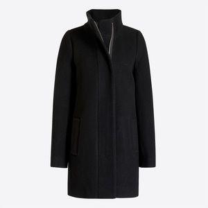 J.Crew Factory City Coat in Black